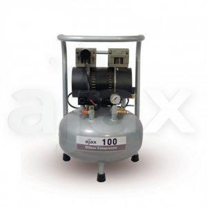 Ajax 100 - безмасляный компрессор для одной стоматологической установки
