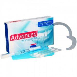 Amazing White Advanced 16% - набор для чувствительных зубов и экспресс отбеливания | Amazing White (США)