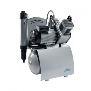 Duo  двухцилиндровый безмасляный компрессор с мембранным осушителем с ресивером  л  лмин  Drr Dental Германия