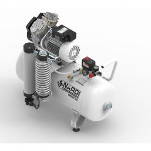 EXTREME 3D 50L - безмасляный компрессор без кожуха