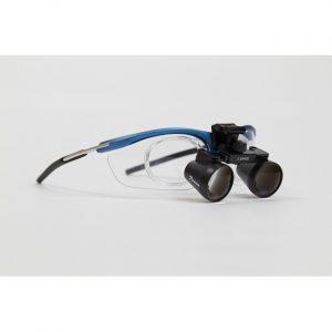GL4 Sport 2.5 - бинокулярные лупы системы Flip-up на спортивной оправе