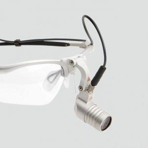 Heine LED MicroLight - налобный светодиодный осветитель с креплением на оправе | Heine (Германия)