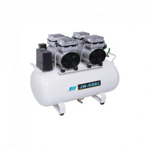 JW-032C - безмасляный компрессор для трех стоматологических установок