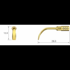 SG3 - хирургические костные скребки с тремя рабочими кромками | NSK Nakanishi (Япония)