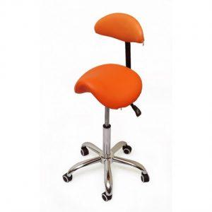 SmartStool S03B - эргономичный классический стул-седло со спинкой | Smartstool (Россия)
