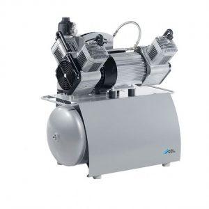 Trio  трехцилиндровый безмасляный компрессор c мембранным осушителем с ресивером  л  лмин  Drr Dental Германия
