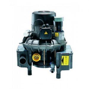 VS   вакуумная помпа с сепаратором для  стоматологических установок при единовременной работе  без кожуха влажная аспирация  Drr Dental Германия